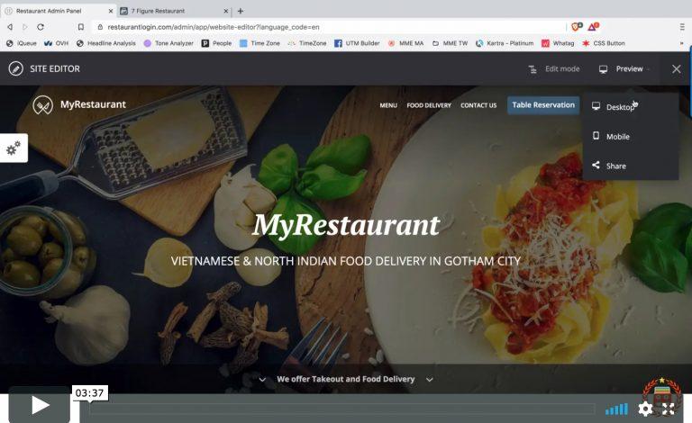 Messenger Marketing Experts - GlobalFood Setup